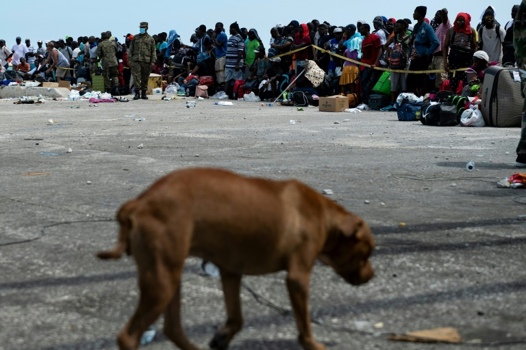 For Bahamas islands new homeless, a grim wait for evacuation