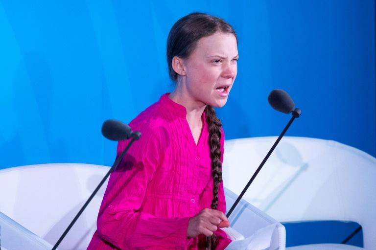 Trump slammed for trolling Greta Thunberg climate speech