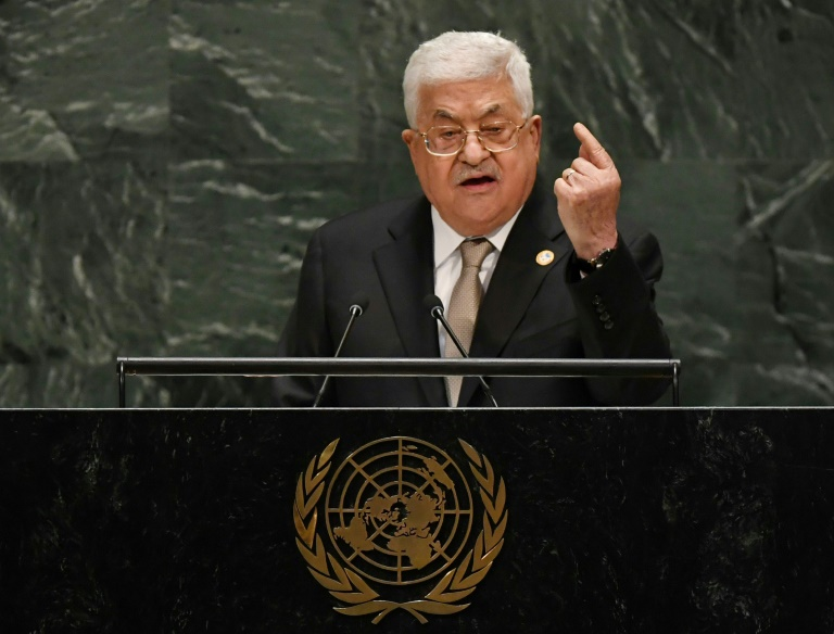 All agreements off if Israel annexes territory, Abbas warns at UN