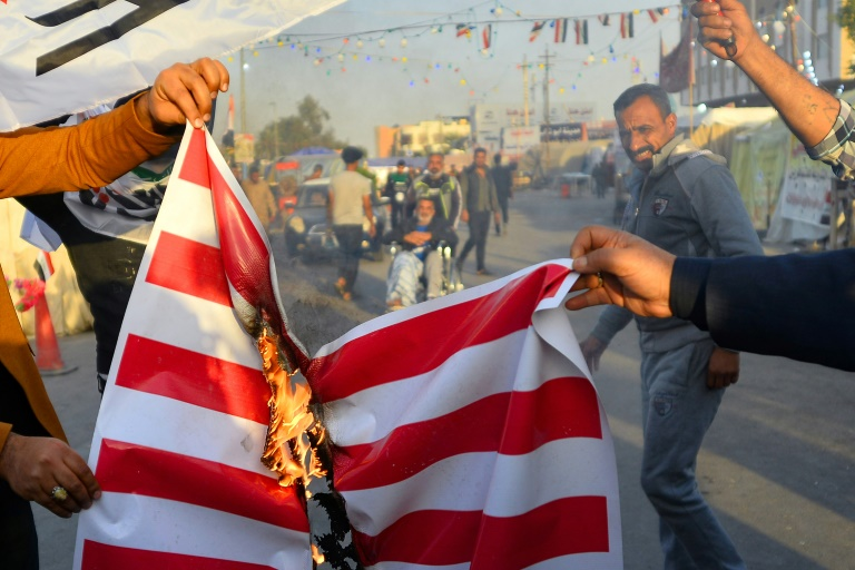 Washington says Baghdad failed to protect Americans