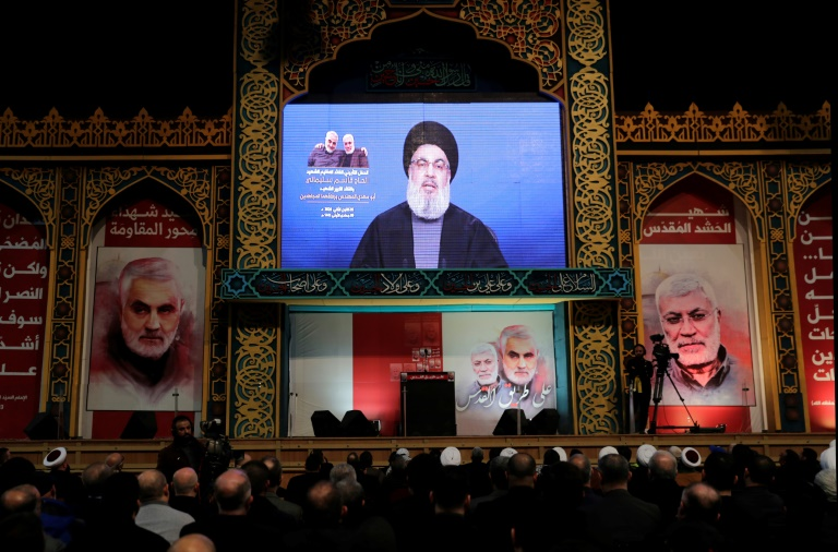 US army to pay price for killing Soleimani: Hezbollah chief