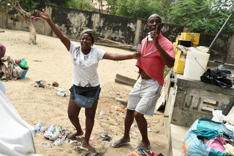 Nigerian military clears thousands from Lagos waterfront