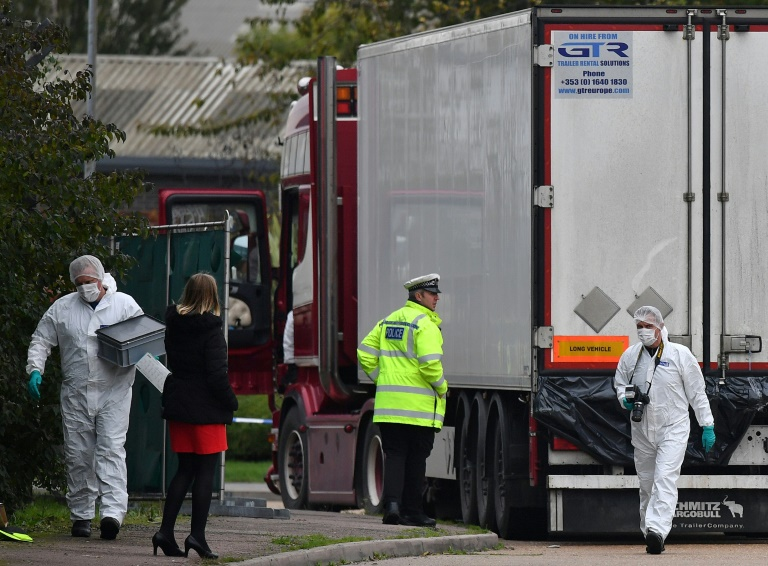 Vietnamese woman feared among 39 UK truck victims