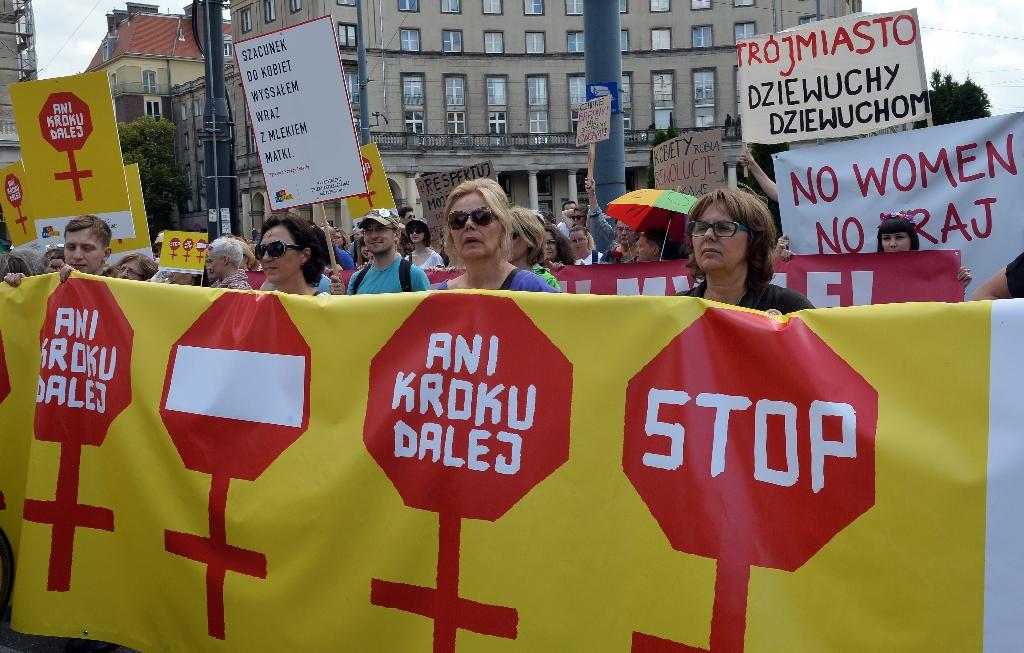 Battle over abortion law heats up in Catholic Poland