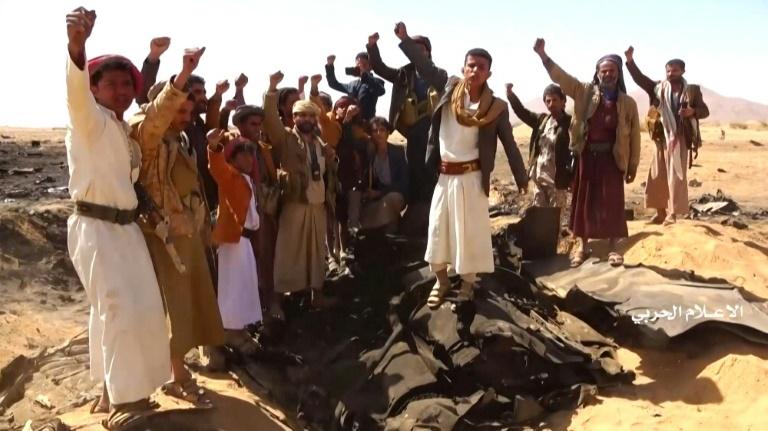 Questions over fate of Saudi crew in Yemen jet crash
