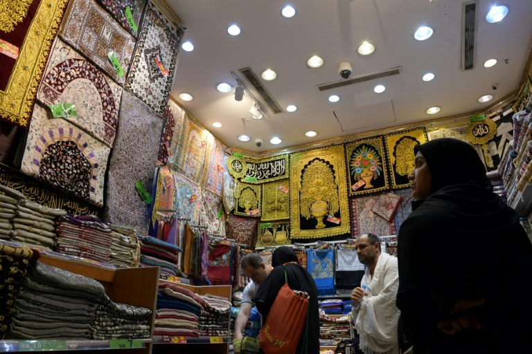 Mecca vendors cash in on hajj pilgrimage
