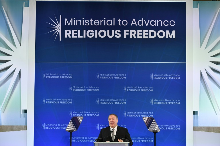 China hits back at hypocritical US over religious freedom