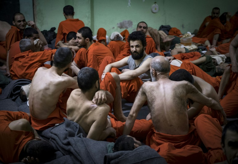 In a Kurdish prison, former IS fighters never see the sun