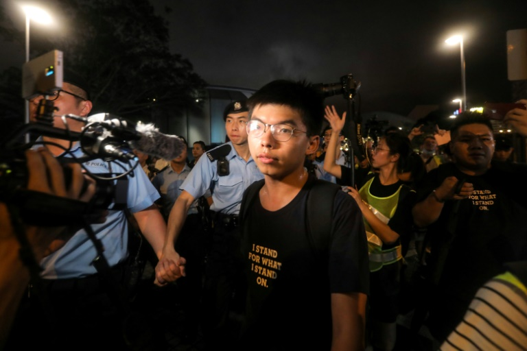 Hong Kongs Joshua Wong on way to Germany, US after brief detention