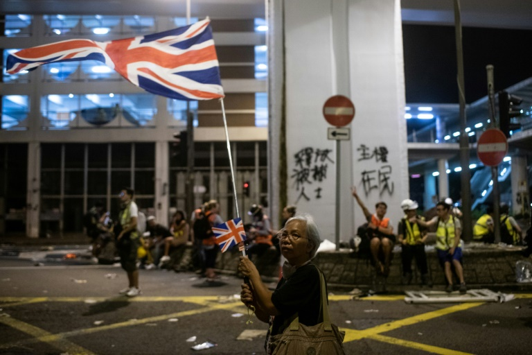 China says it will not tolerate foreign forces in Hong Kong