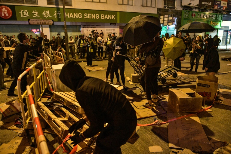 Hong Kong protest medic arrested on China mainland say fellow students
