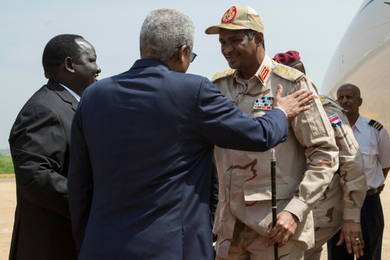 Sudan generals, protest leaders, to meet rebel chief in S.Sudan