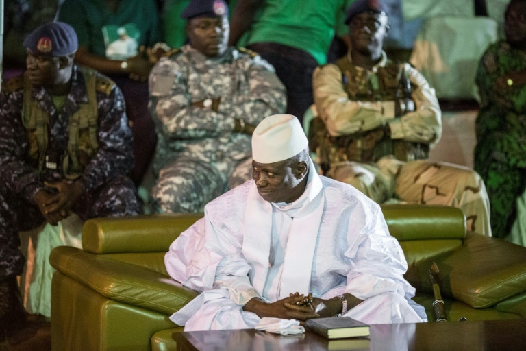 Gambian exiled ex-president demands return in leaked recording