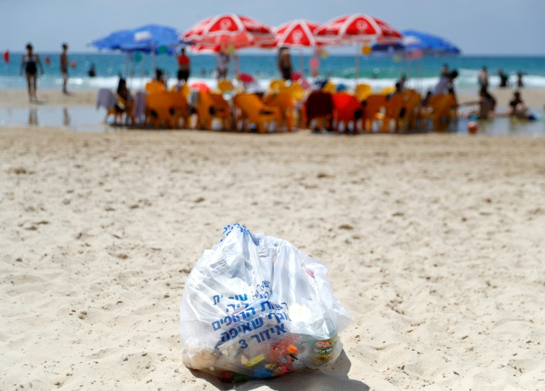 Tel Aviv beaches fall foul in Israels passion for plastic
