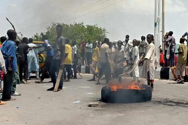 Nigeria protesters demand end to anti-Boko Haram militia