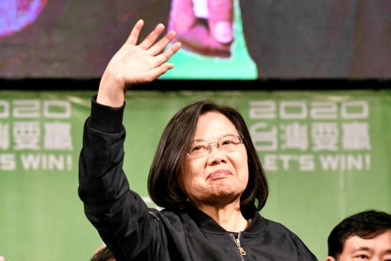 Taiwan already independent, Tsai warns China
