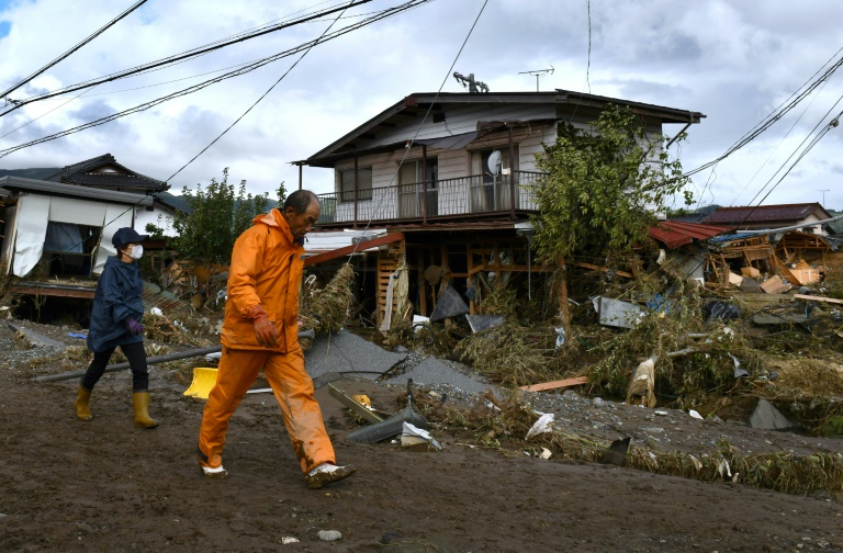 Two dead, one missing in landslides weeks after typhoon hit Japan