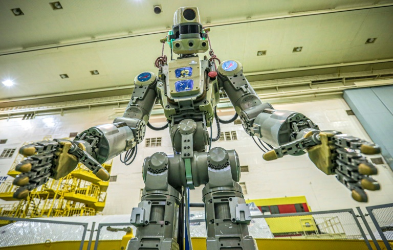 Docking aborted for Russias first humanoid robot in space