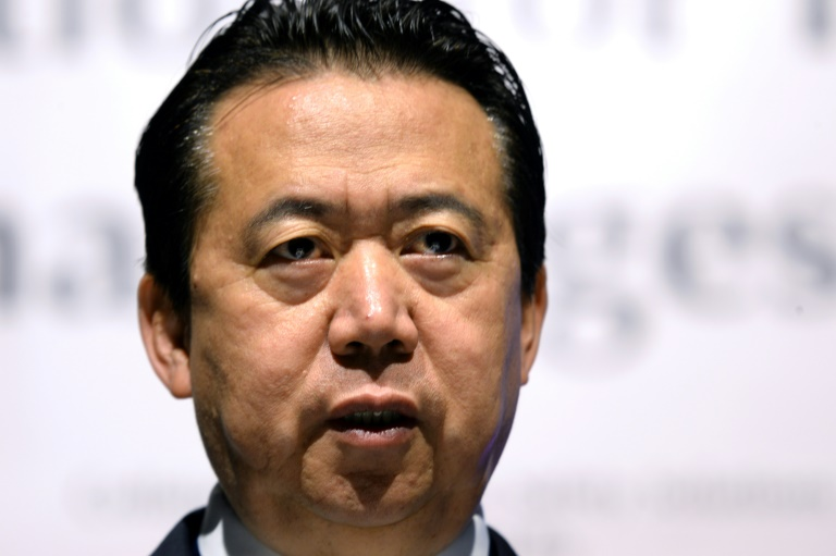 Wife of Chinese ex-head of Interpol sues over disappearance