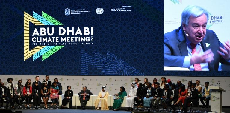 UN chief urges action to avert climate change catastrophe