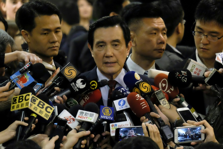 Taiwan former leader Ma cleared in political leaks case