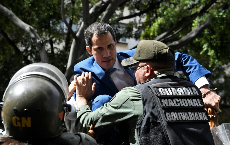 US official dismisses desperate move to oust Venezuelas Guaido