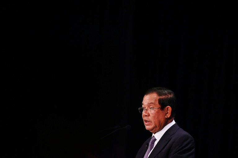 Cambodia premier condemns use of rights as political tool