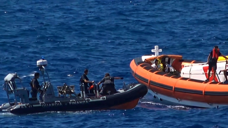 Spain sends navy to save migrants as Italian justice intervenes