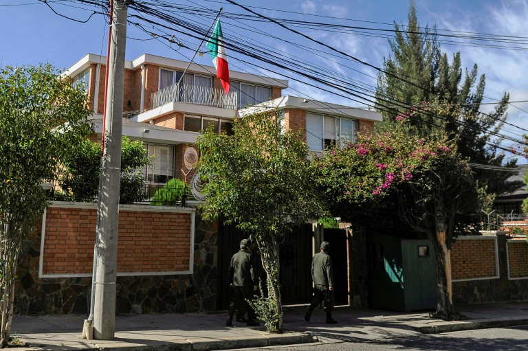 Mexico vows to take Bolivia to court over embassy spat
