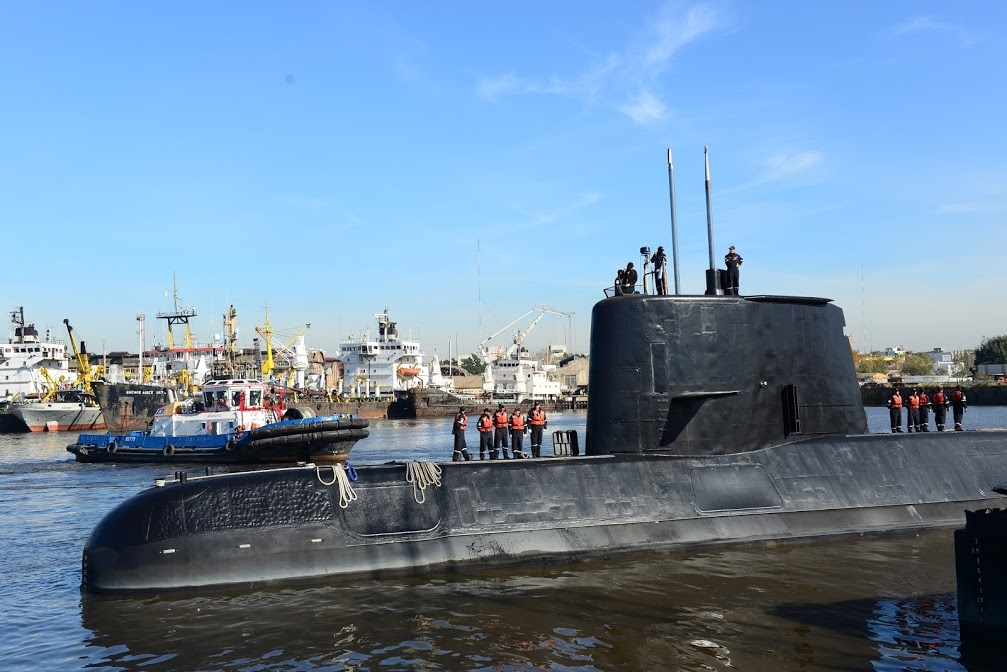 Noises detected in Argentine sub search disappoint