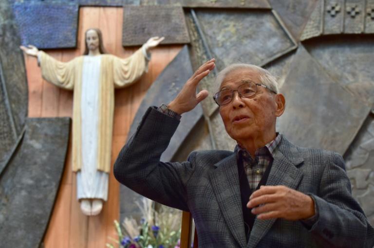 Ageing Japan bomb survivors back popes anti-nukes call