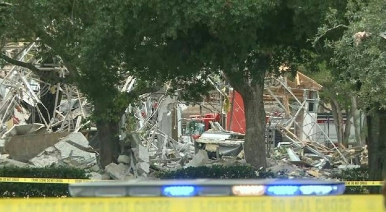 Gas explosion at US mall injures 21