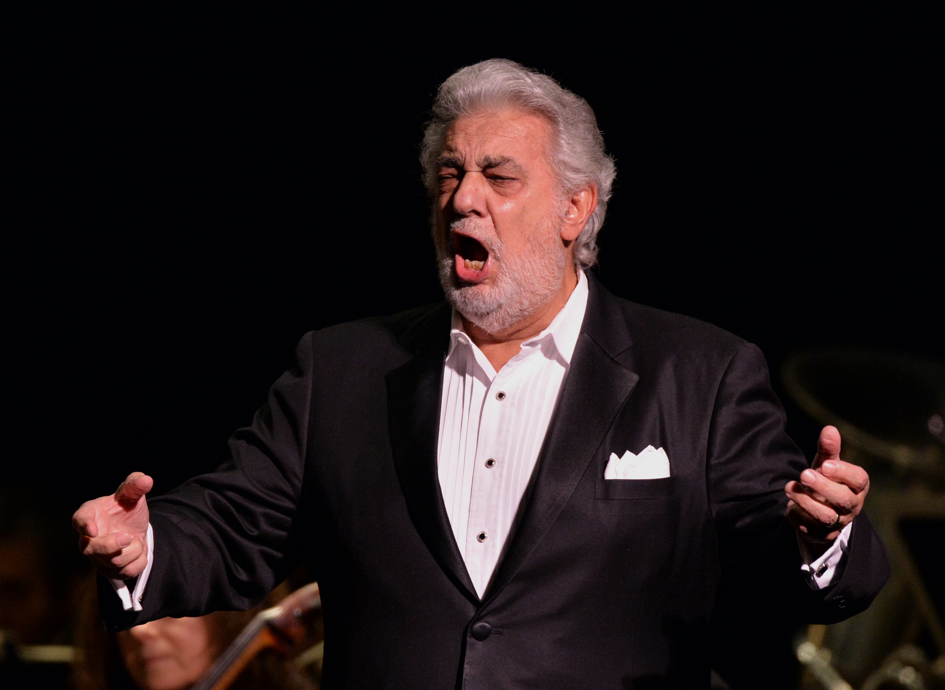 Placido Domingo revives Woody Allen Puccini opera