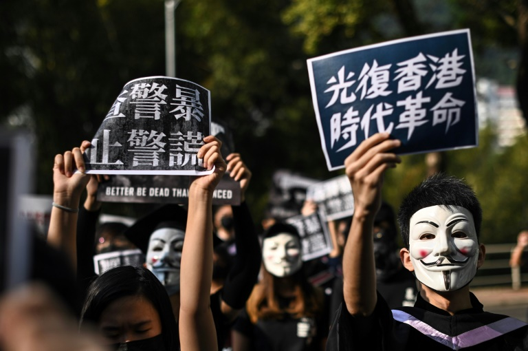Mainland Chinese student jailed in Hong Kong protests