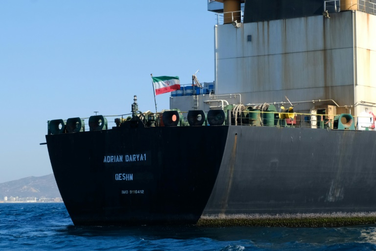 Iranian tanker blacklisted by US off Lebanon, Syria coasts