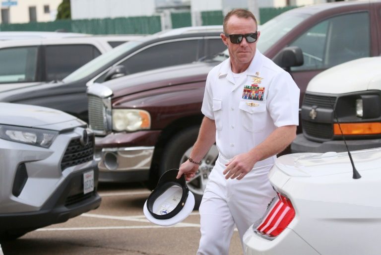 Trump glad to help Navy SEAL acquitted of murder