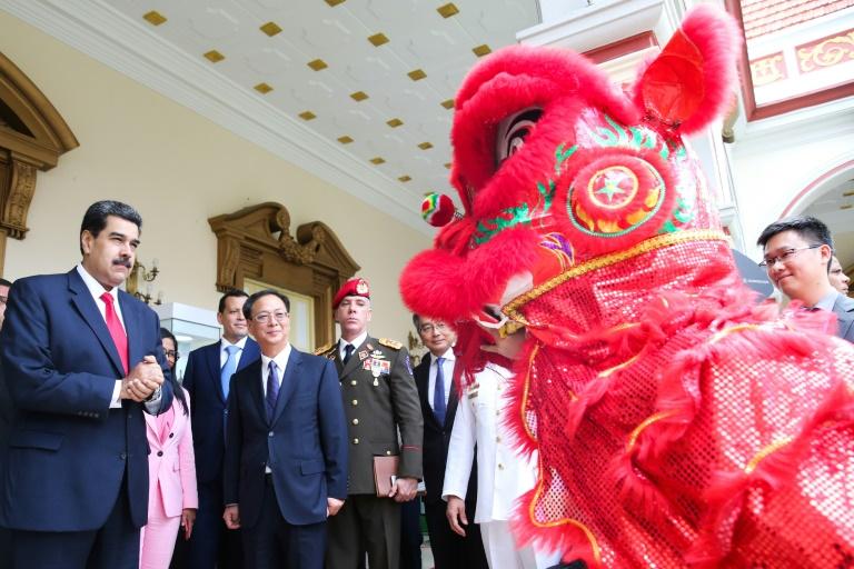 China slams US for bullying Venezuela