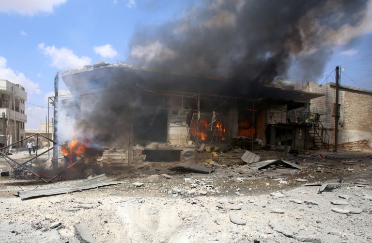 French group to open two hotels in Damascus as airstrikes kill civilians
