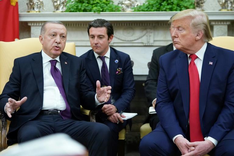 Turkeys Erdogan calls Macrons NATO comments unacceptable