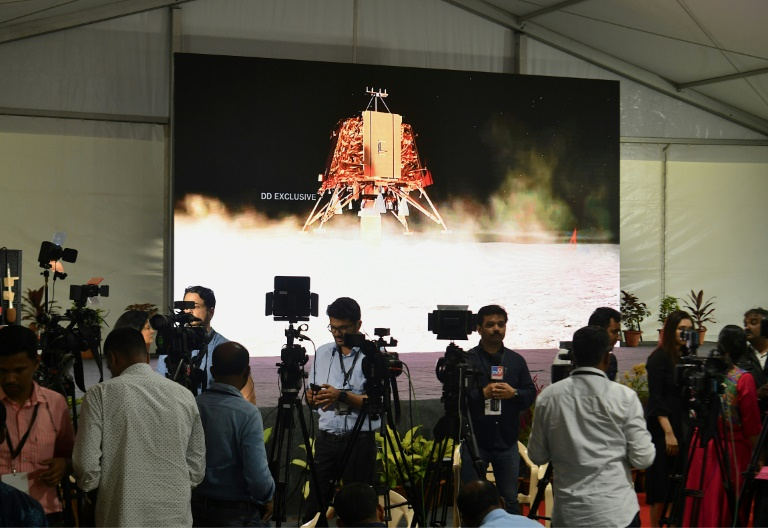 India locates missing Moon lander