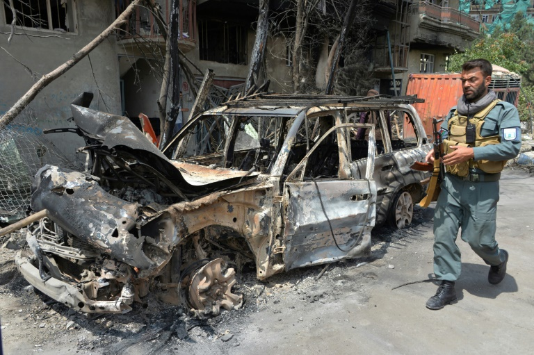 Afghan presidential candidates fear for safety after attack
