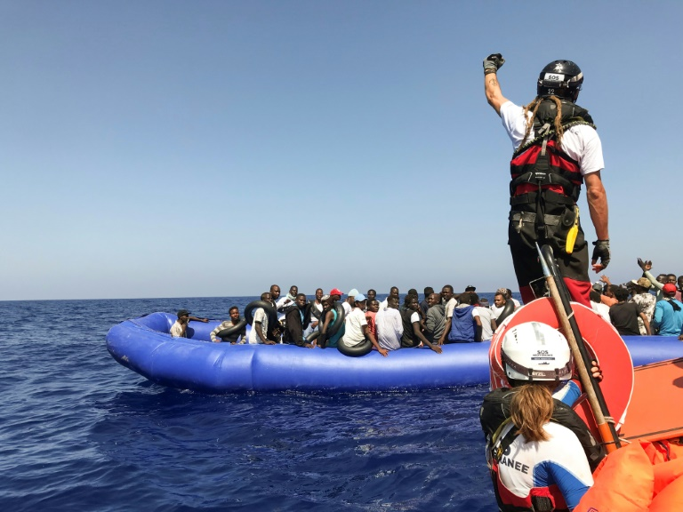 Another 81 migrants rescued by charity ship off Libya