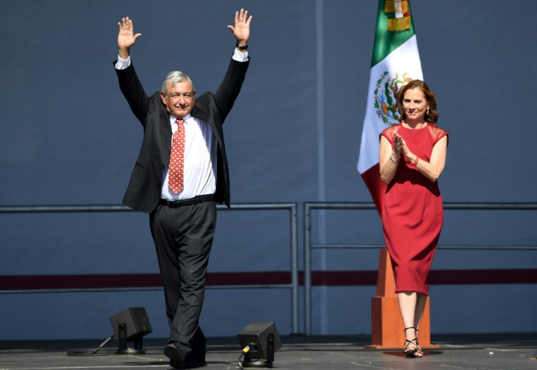 Morales victim of coup, says AMLO during first-term celebration