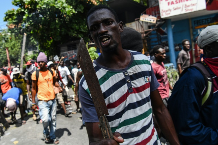 Haiti gripped by violent protests, rage against president