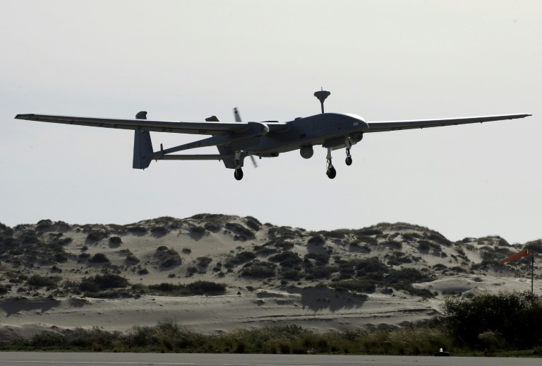 On Israels borders, drone rivalries play out