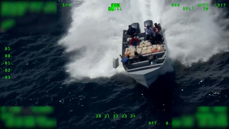 US drug busts in Pacific net cocaine worth $350 mn