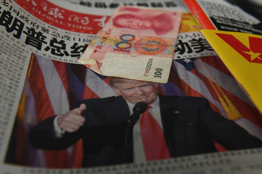 China muted after Trump's Twitter barrage