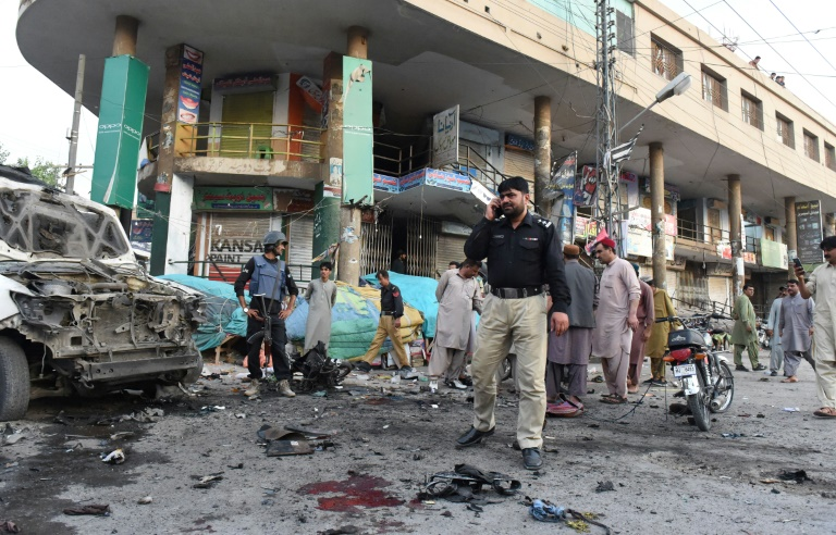 Motorbike bomb kills five in southwest Pakistan: police