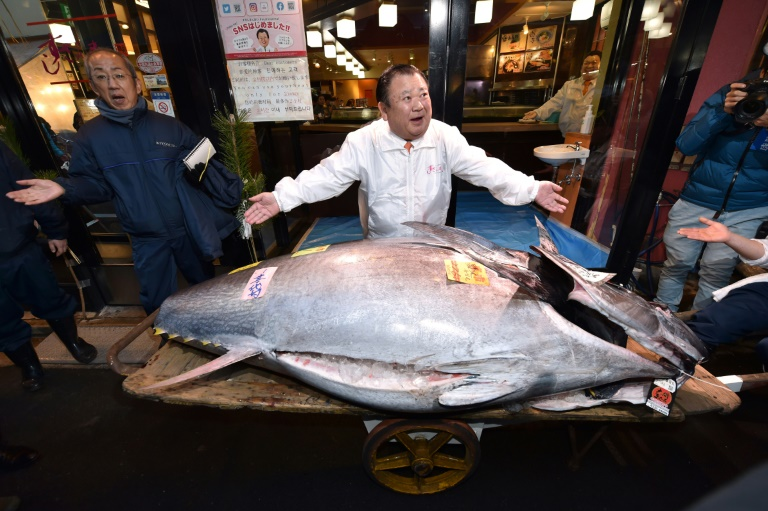 Japan Tuna King buys new year catch for $1.8 million