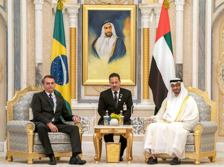 UAE, Brazil ink deals in first visit for Bolsonaro